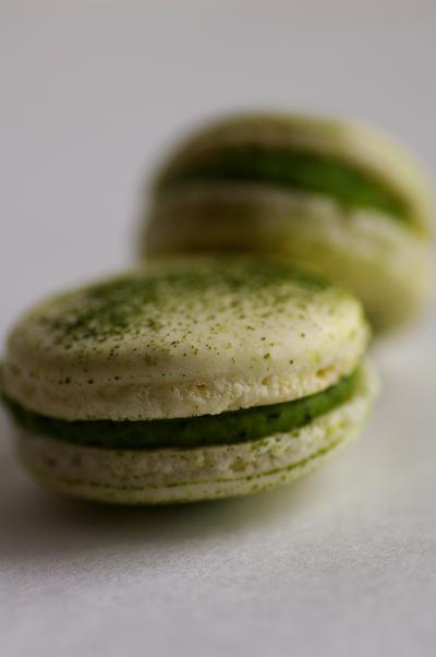 ピエールエルメ/マカロン/抹茶味/Macaron Th� vert