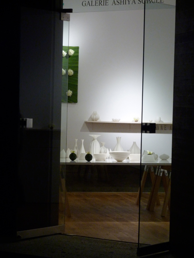 若杉聖子展 ギャラリーあしやシューレにて Fleuriste VIOLETのお花